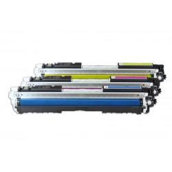 HP CF341A / 126A TARVIKE, Toner Spar-Set (C,M,Y) 3x1000 s. (5%)