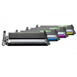 Samsung, TARVIKE, CLP-360 / CLT-P406C Toner Spar-Set (BK,C,M,Y) 1x1500 & 3x1000 s.(5%)